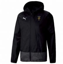 Royal British Legion Puma Goal Training Rain Jacket – Black/Asphalt